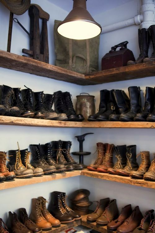 Closet Collection: I Want To Meet A Guy That Owns A Shoe Collection Like This