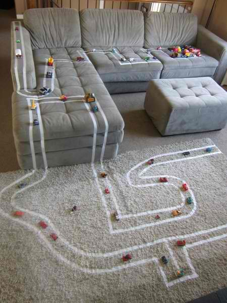 Great idea for those Snowy days with the Kids