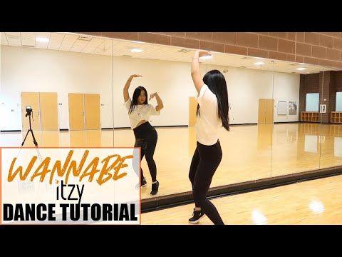 Itzy Wannabe Lisa Rhee Dance Tutorial Youtube Dance Dance Kpop Dance Routines