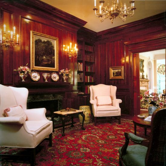 Library Den Atlanta Home Of Interior Designer Peggy: ... Better Homes And Gardens