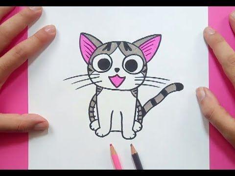 Como Dibujar Gato Kawaii Paso A Paso Dibujos Kawaii Faciles How To Draw A Cat Youtube Dibujos Kawaii Como Dibujar Un Gato Dibujos Kawaii Faciles
