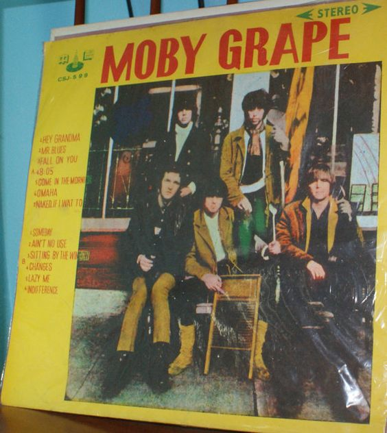 Vintage Moby Grape Vinyl Record, Foreign Album 1960s by jammatun, $4.99