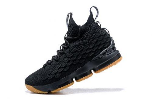 How To Buy Nike LeBron 15 Black Gum 897648-300 Mens ...