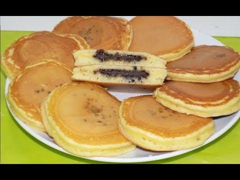 خبز الحليب في المقلاة بدون فرن لفطور الصباح أو اللمجة Youtube Desserts Food Breakfast