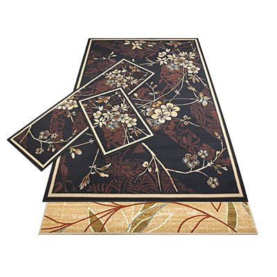 Woven 3 Piece Rug Sets At Lots New Home Decorating Ideas