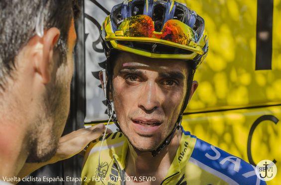 Retrato de Alberto Contador del Tinkoff - Saxo Solo los que montamos en bici sabemos lo que se siente despues de 174,4 Km