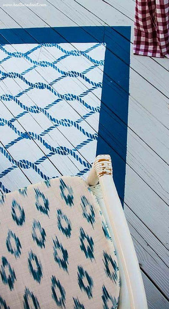 Chart rug size bucas