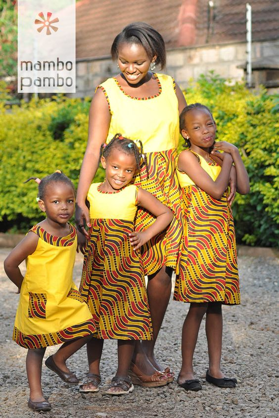 Latest Lovely Family Ankara Styles
