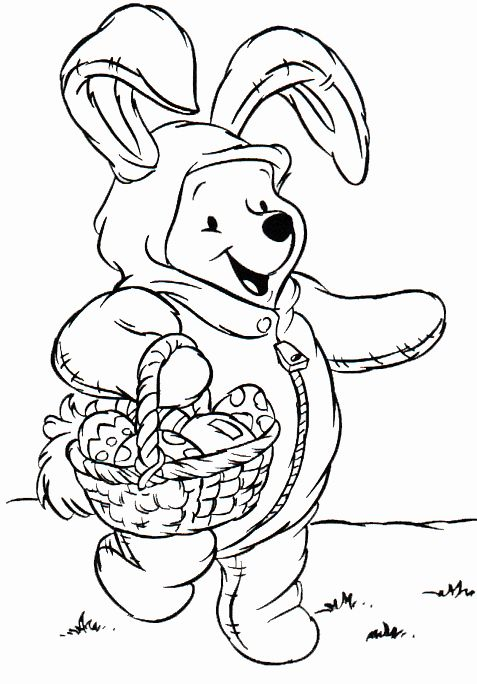 Disney Easter Coloring Pages In 2020 Disney Coloring Pages