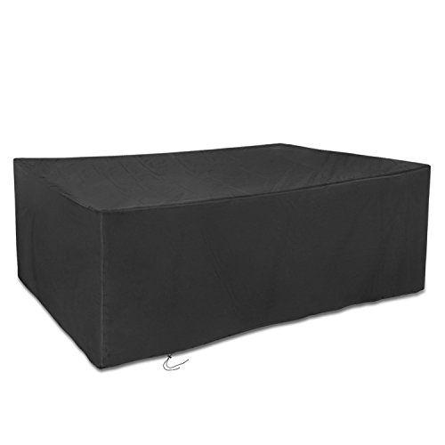 Dokon Grosse Abdeckplane Fur Gartenmobel Wasserfest Atmungsaktiv Aus Oxford Gewebe Fur Outdoor G Outdoor Storage Outdoor Furniture Outdoor Storage Box