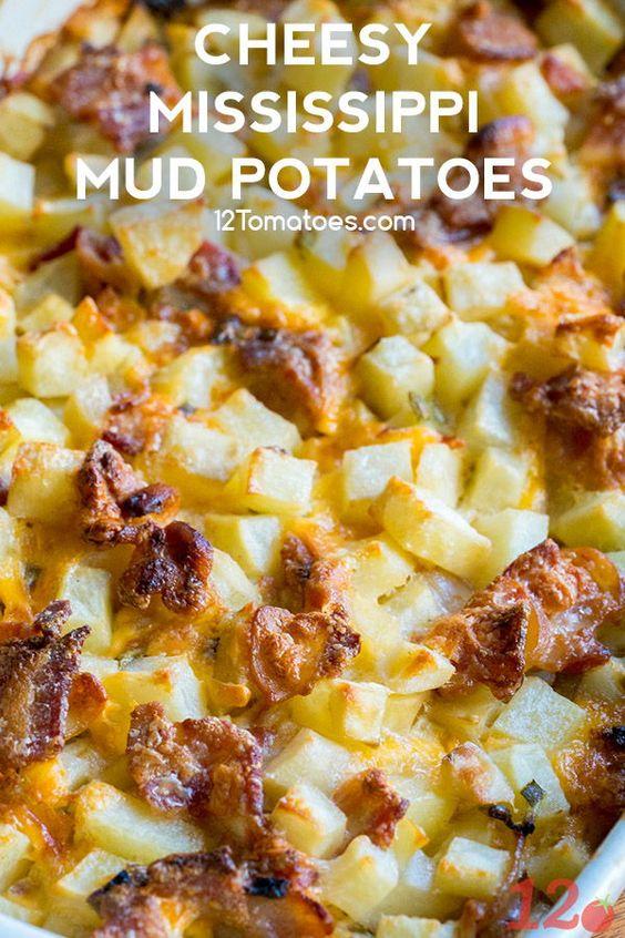 Mississippi Mud Potatoes