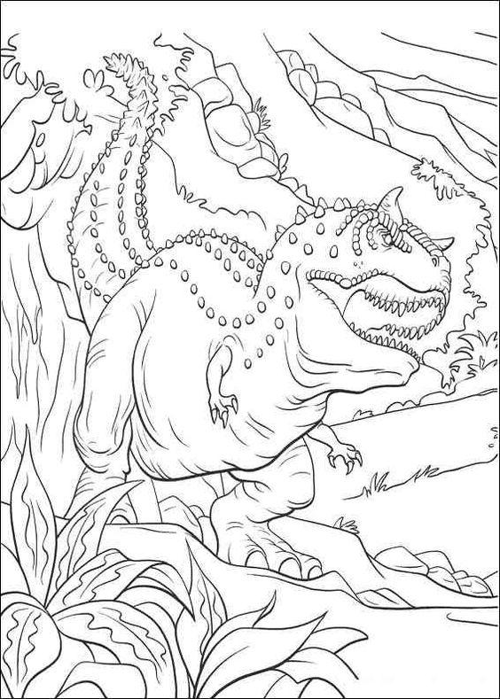 Dinosaurier 66 Ausmalbilder | Ausmalbilder | Pinterest