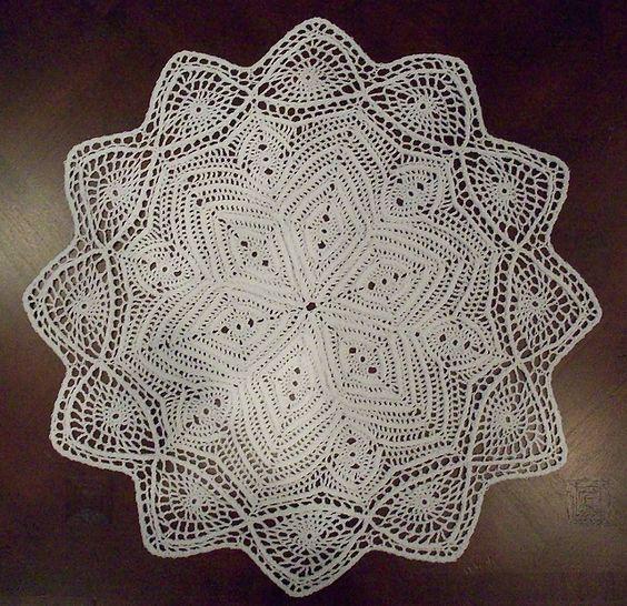 Ravelry: Ribbed Star Doily pattern by Richard Sechriest