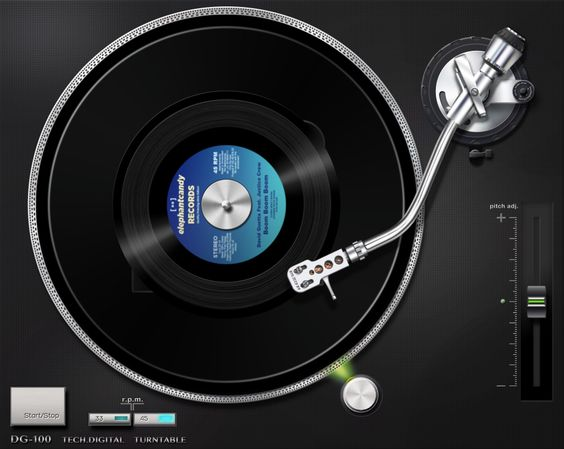 I'm now listening to my vinyl record collection on my iPad! Check it out! Vinyl: http://itunes.apple.com/app/id571600993
