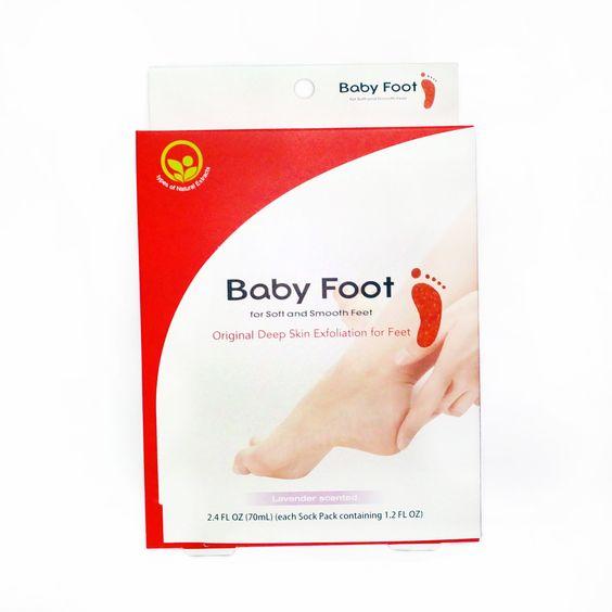 هل تعاني من أقدام متشققة و جافة نقدم لك Baby Foot Easy Pack و هو منتج ياباني صنع خصيصا لعلاج خلايا ا Deep Skin Exfoliation How To Exfoliate Skin Baby Feet