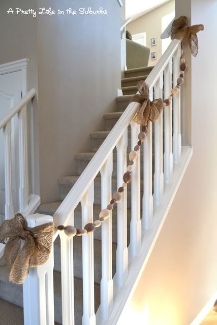 Easter Garland using plastic eggs & burlap.