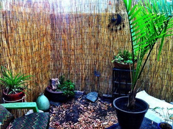 Yardcore Backyard privacy screens | Backyard privacy wall and exotic