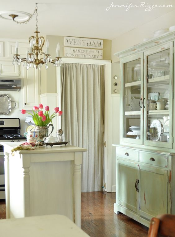 Grey walls grey and cabinets on pinterest for Benjamin moore linen white kitchen cabinets