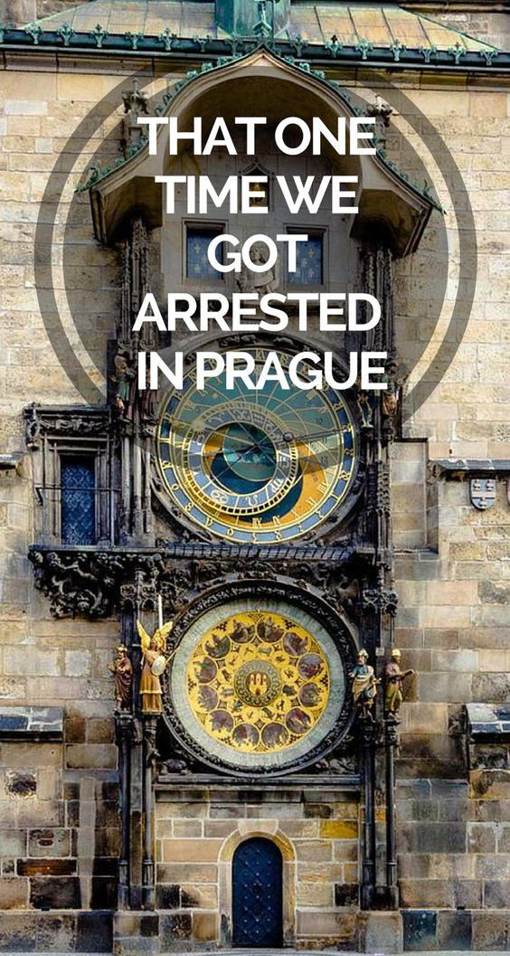 We got arrested in Prague - boy what a story! Avoid it by NOT doing what we did!