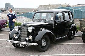 Vauxhall 14-6 – 1938