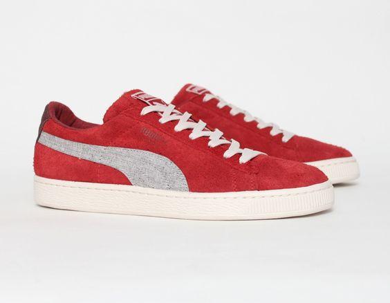 #Puma Suede Rugged Red