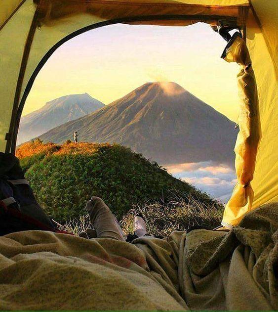 Gunung Di Indonesia Pemandangan Foto Alam Fotografi Alam