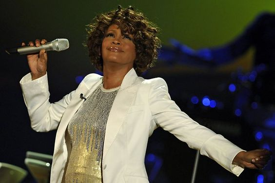 US singer Whitney Houston performs on stage during the 183rd edition of the TV show  on October 3, 2009 in Freiburg, southern Germany.