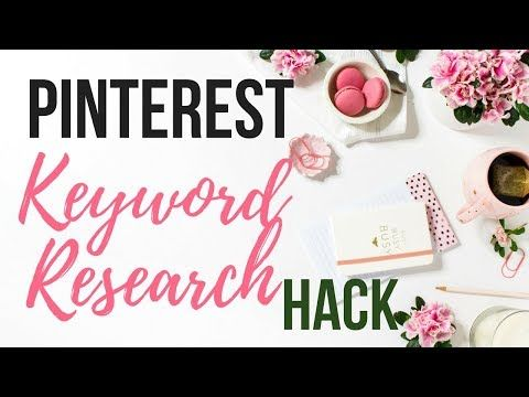 9 Pinterest Keyword Research With Search Volume Count Youtube Pinterest Keywords Pinterest For Business Pinterest
