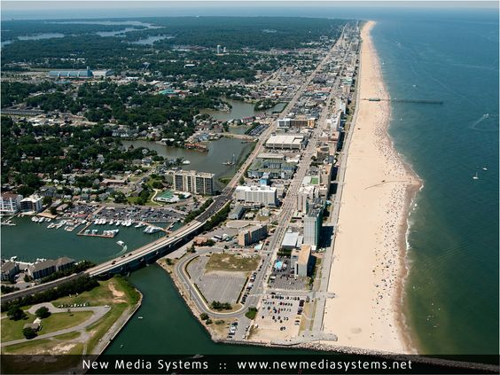 Home Sweet Home Street Map Of Virginia Beach – Tourist Attractions Map In Virginia