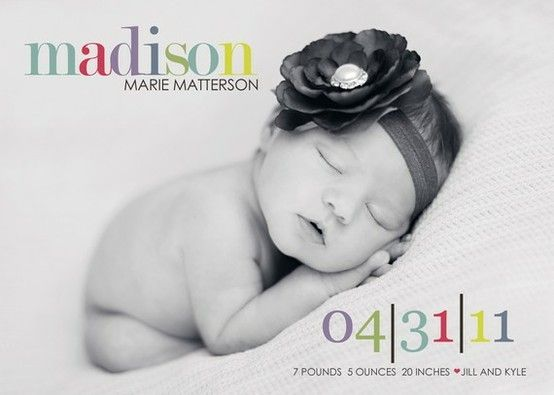 adorable baby announcements the-land-of-photographia