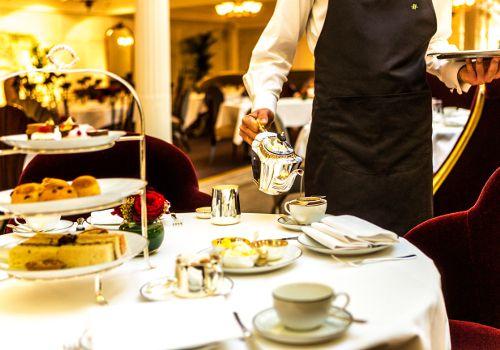 Best Afternoon Tea at Harrods Georgian Restaurant Knightsbridge