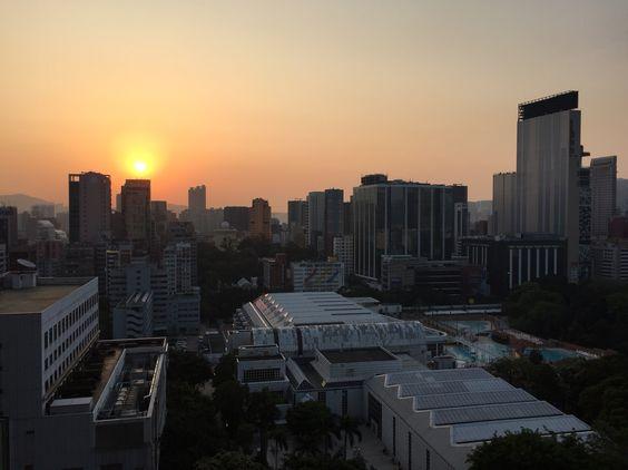 Sunrise at Tst!
