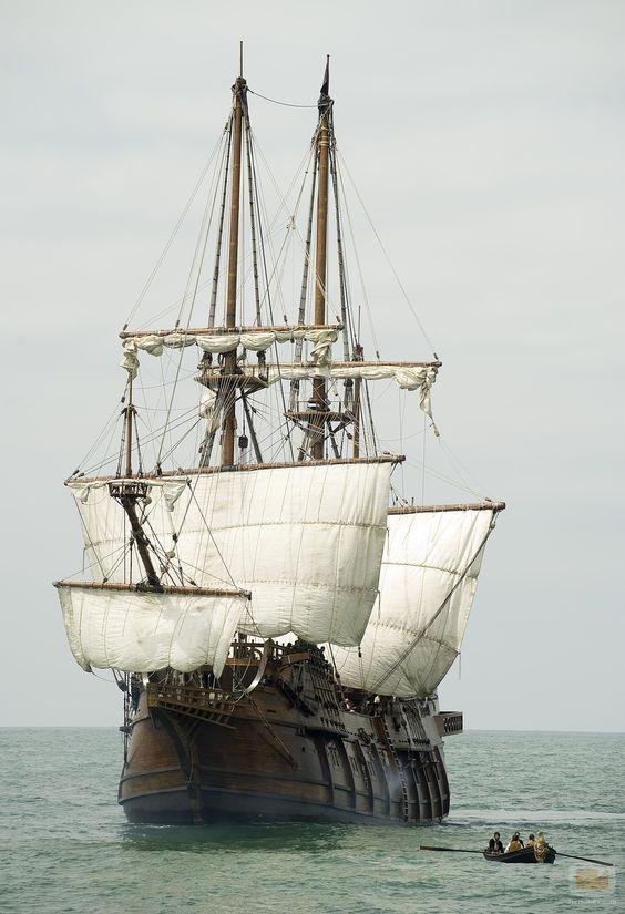 El corazón del océano. Barcos