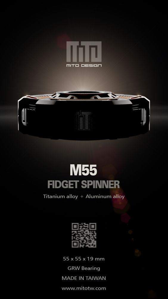 MITO Design 2017 New Fid Spinner MITO M55 from Taiwan