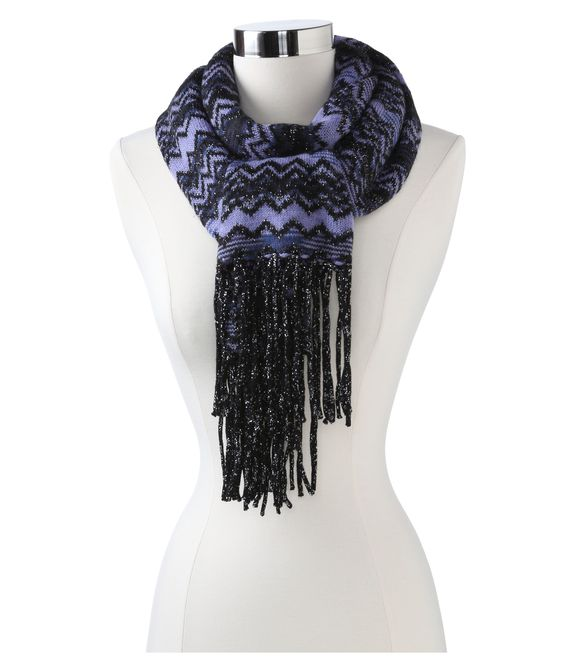 Missoni Mirra Scarf Purple - 6pm.com