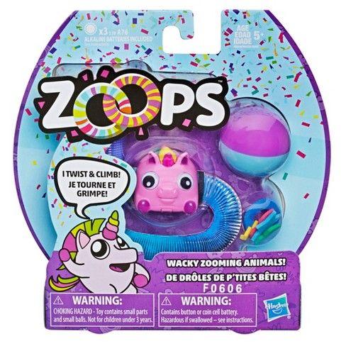 Hasbro Zoops Electronic Party Unicorn Pet Target Unicorn Stuffed Animal Pet Toys Electronics Party