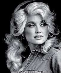 Dolly Parton.  She looks kinda stunning in this picture.