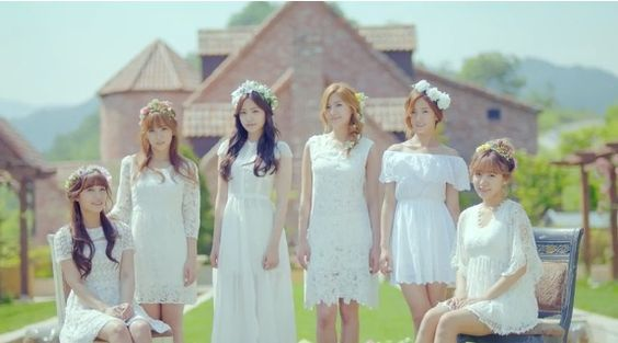 A Pink are beautiful goddesses in 'Secret Garden' teaser