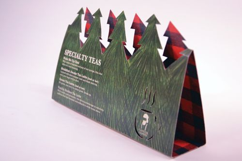 Canuck Coffee Table Tent by Shauna Lair