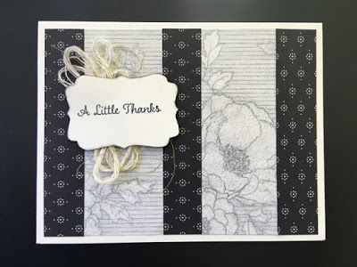Inspired Stamping by Janey Backer, Stampin' Up!, One Big Meaning, Timeless Elegance