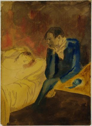 Pablo Picasso - Meditation aka Contemplation, 1904