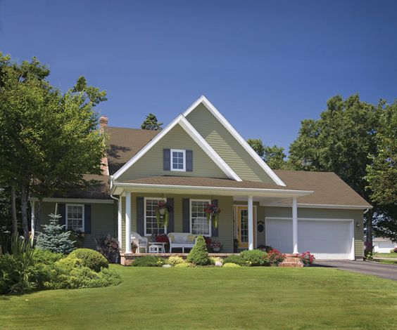 Certainteed cypress vinyl siding dream home exterior for Cypress color vinyl siding