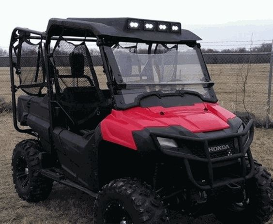 The Audio Formz Stereo Top for Honda Pioneer 700 is the perfect companion for your Pioneer! If you love blasting great tunes during your day out in the field, there is no better side by side accessory than this top from Audio Formz! #utv #stereo $1416.16 http://www.sidebysidestuff.com/audio-formz-top-w--stereo--optional-led-lights----pioneer-700.html