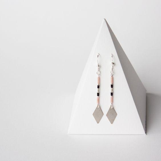Boucles d'oreilles perles MIYUKI