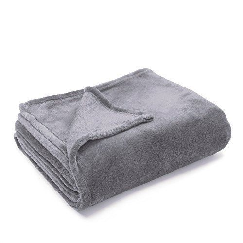 Luxury Blanket White Twin Bedsure Flannel Fleece Cozy Plush Size Lightweight