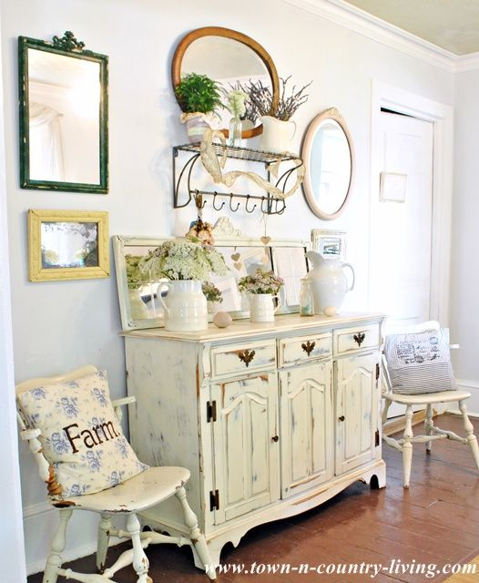 Dining Room Buffet Ideas: Summer Decorating Ideas For The Dining Room