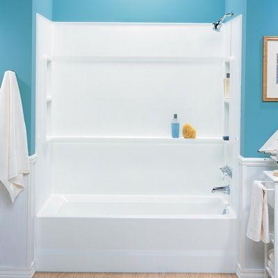 swanstone tub surround -- no grout!