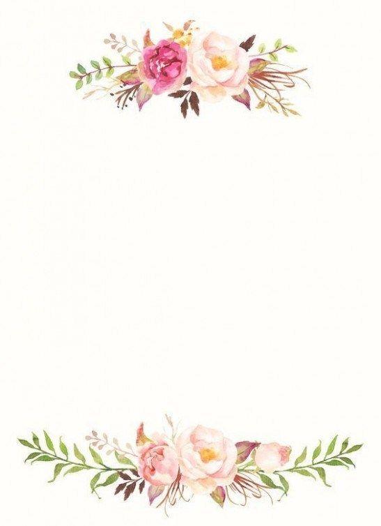The Hidden Agenda Of Flower Wallpaper Template Flower Wallpaper Template Https Ift Tt 2r50cql Watercolor Flowers Flower Frame Flower Border