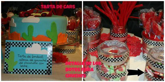 Hecho a mano: CANDY BAR DE CARS