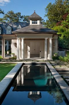 Traditional Pool Backyard Studios Design, Pictures, Remodel, Decor and Ideas - page 2
